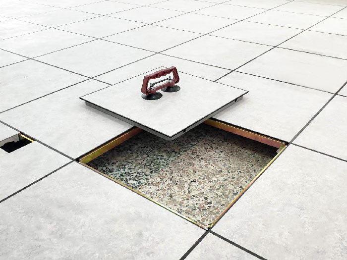 合金鋼高架地板面貼pvc