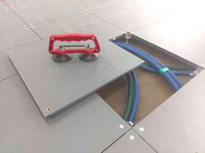 高架地板施工-益靖高架地板